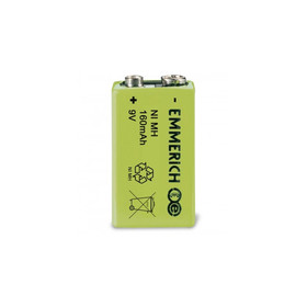 Accu Battery 9V - rechargeable