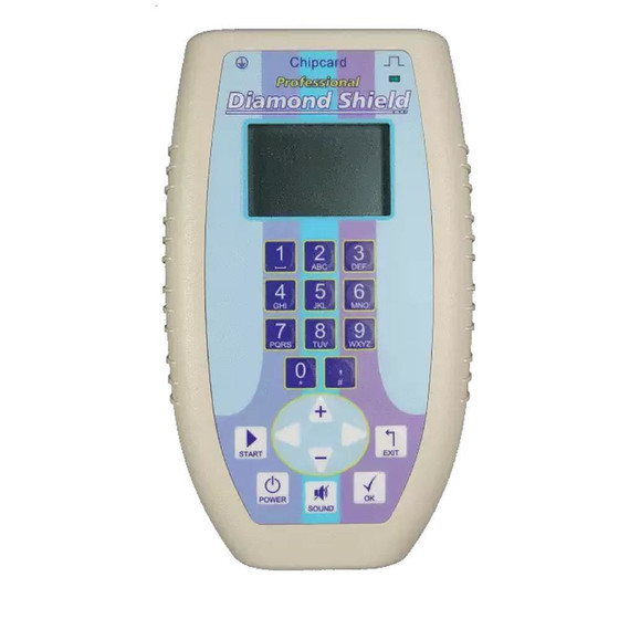 Diamond Shield Professional Frequenzgenerator Zapper - inkl. Steckdosentester englisch